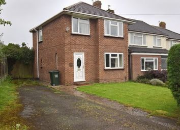 Thumbnail 3 bed semi-detached house for sale in St. Cuthberts Crescent, Albrighton, Wolverhampton