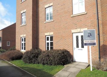 Thumbnail 2 bed flat for sale in Lovell Field Close, Warwick