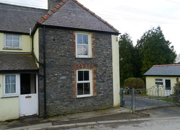 Thumbnail 1 bedroom semi-detached house to rent in Brynawel, Cnwch Coch