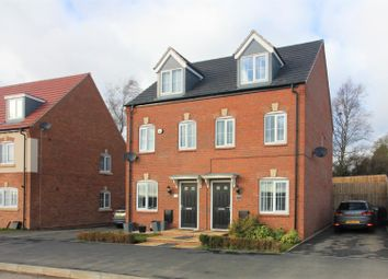 Thumbnail 3 bedroom semi-detached house for sale in Riber Drive, Chellaston, Derby