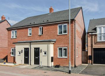 Thumbnail 3 bed semi-detached house for sale in Crabtree Avenue, Rugeley