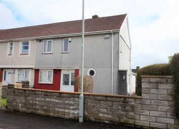 Thumbnail 3 bedroom end terrace house for sale in Penderry Road, Penlan
