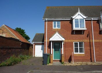 Thumbnail 3 bed semi-detached house to rent in Valentine Road, Hunstanton