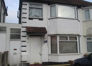 Thumbnail 3 bed semi-detached house to rent in Sandringham Road, Great Barr, Birmingham