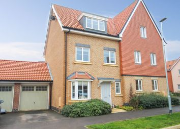 Thumbnail 3 bed semi-detached house for sale in Abbotsbury Drive, Monksmoor, Daventry