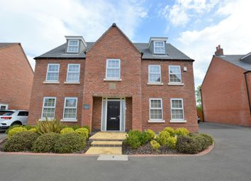 Thumbnail 5 bed detached house for sale in Polyantha Square, Rearsby, Leicester