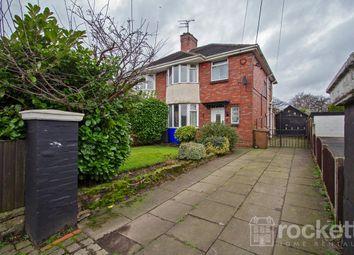 Thumbnail 3 bedroom semi-detached house to rent in Sandon Road, Longton, Stoke-On-Trent