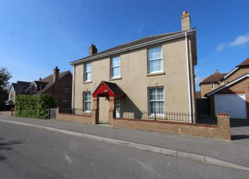Thumbnail 3 bed detached house to rent in School Lane, Lower Halstow, Sittingbourne