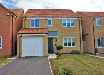 Thumbnail 4 bed detached house for sale in Crucible Close, North Hykeham, Lincoln