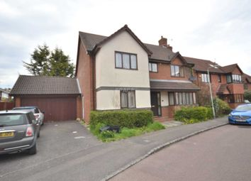 Thumbnail 6 bed detached house to rent in Woodward Close, Winnersh, Wokingham