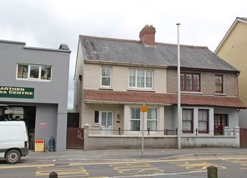 Thumbnail 3 bed semi-detached house for sale in Priory Street, Carmarthen, Carmarthenshire