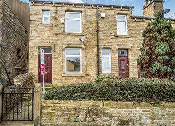 Thumbnail 2 bedroom end terrace house for sale in Moorbottom Road, Lockwood, Huddersfield