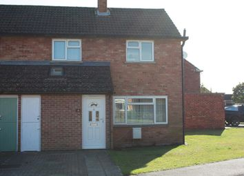 Thumbnail 2 bed semi-detached house to rent in Somerset Road, Wyton, Huntingdon