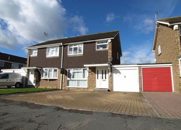 Thumbnail 3 bed semi-detached house for sale in Wordsworth Avenue, Newport Pagnell, Buckinghamshire