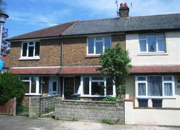 Thumbnail 2 bed terraced house to rent in St Anselms Road, Worthing
