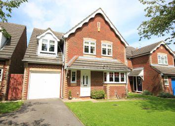Thumbnail 4 bed detached house for sale in Manor Park Close, Tilehurst, Reading