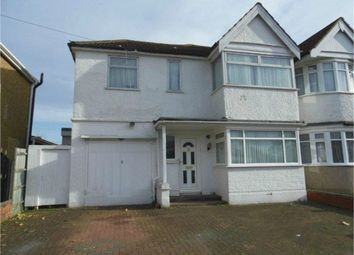 Thumbnail 4 bed end terrace house to rent in Spinnells Road, Rayners Lane, Middlesex