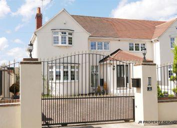 Thumbnail 4 bed semi-detached house for sale in Tudor Villas, Burton Lane, Goffs Oak