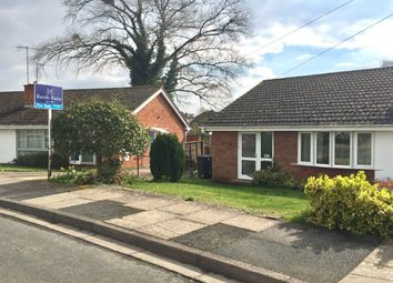 Thumbnail 2 bed bungalow for sale in Leabank Drive, Worcester