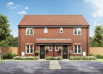 "Thumbnail 3 bed semi-detached house for sale in ""The Emmett"" at Badgers Chase, Retford"