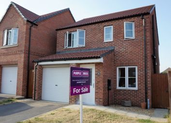 Thumbnail 3 bed detached house for sale in Ploughmans Lane, Lincoln