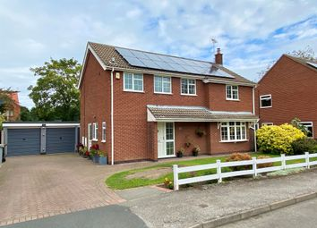 Thumbnail 4 bed detached house for sale in Vicarage Close, Collingham, Newark