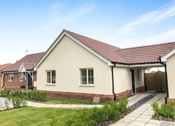 Thumbnail 2 bed semi-detached bungalow for sale in Burns Drive, Stowmarket