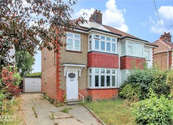 Thumbnail 3 bed semi-detached house for sale in Halstead Road, Kirby Cross, Frinton-On-Sea, Essex