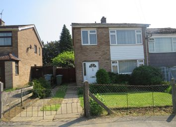 Thumbnail 3 bed semi-detached house for sale in Derwent Road, Grantham