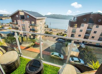 Thumbnail 2 bed flat to rent in Glanfa Dafydd, Barry Waterfront, Barry