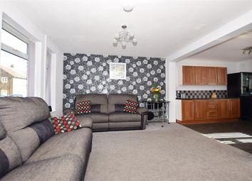 Thumbnail 2 bed semi-detached house for sale in Staplehurst Road, Twydall, Gillingham, Kent