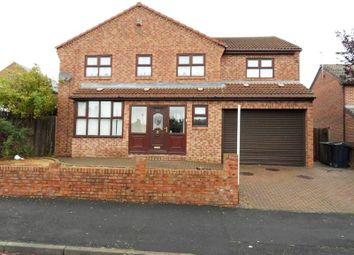 Thumbnail 4 bed detached house for sale in Pinewood Gardens, Gateshead