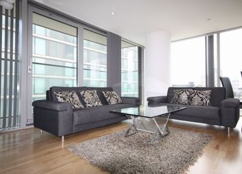 Thumbnail 2 bedroom flat to rent in The Landmark, West Tower, 22 Marsh Wall, London