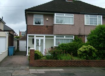 Thumbnail 3 bed semi-detached house for sale in Mackets Lane, Liverpool