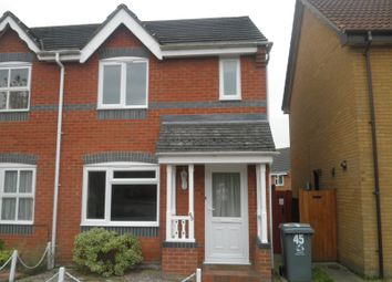 Thumbnail 2 bed semi-detached house to rent in Thistledown Road, Horsford, Norwich