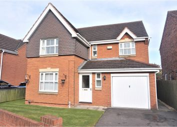 Thumbnail 4 bed detached house for sale in Tintagel Way, New Waltham