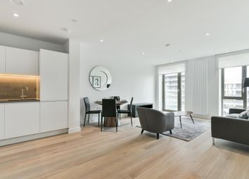 Thumbnail 2 bed flat to rent in Carrick House, Royal Wharf, London