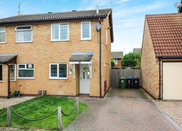 Thumbnail 2 bed semi-detached house for sale in Springfield Close, Broughton Astley