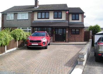 Thumbnail 4 bed semi-detached house for sale in Duke Crescent, Giltbrook, Nottingham