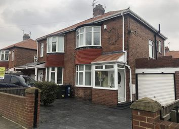 Thumbnail 2 bed semi-detached house for sale in Pembroke Avenue, Newcastle Upon Tyne