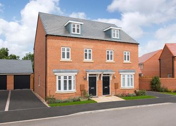 "Thumbnail 3 bedroom semi-detached house for sale in ""Kennett"" at Harlequin Drive, Worksop"