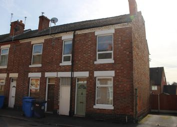 Thumbnail 3 bed end terrace house to rent in Westbury Street, Derby