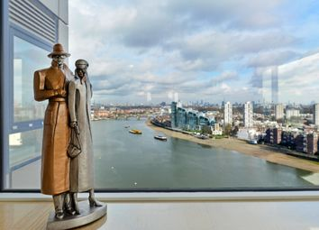 Thumbnail 4 bed triplex for sale in Chelsea Harbour, London