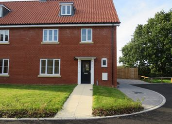 Thumbnail 4 bed semi-detached house for sale in Shotesham Road, Poringland, Norwich