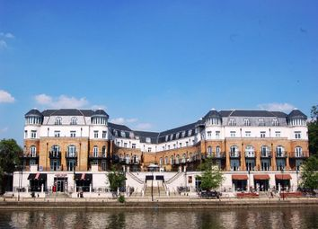 Thumbnail 1 bed flat to rent in Thames Edge Court, Clarence Street, Staines-Upon-Thames, Surrey