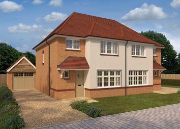 "Thumbnail 3 bed semi-detached house for sale in ""Ludlow Rvt"" at Ty-Draw Road"