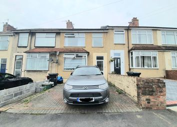 Thumbnail 3 bed terraced house for sale in Kennard Rise, Kingswood, Bristol