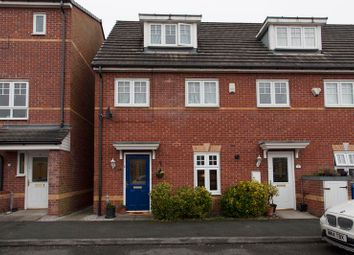 Thumbnail 3 bed town house for sale in Abbeyfield Close, Stockport, Cheshire