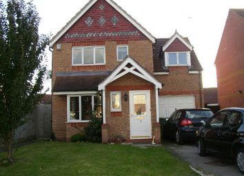 Thumbnail 3 bed detached house to rent in Jewsbury Way, Thorpe Astley, Braunstone, Leicester