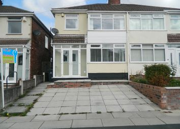 Thumbnail 3 bed semi-detached house to rent in Hilary Avenue, Liverpool, Merseyside